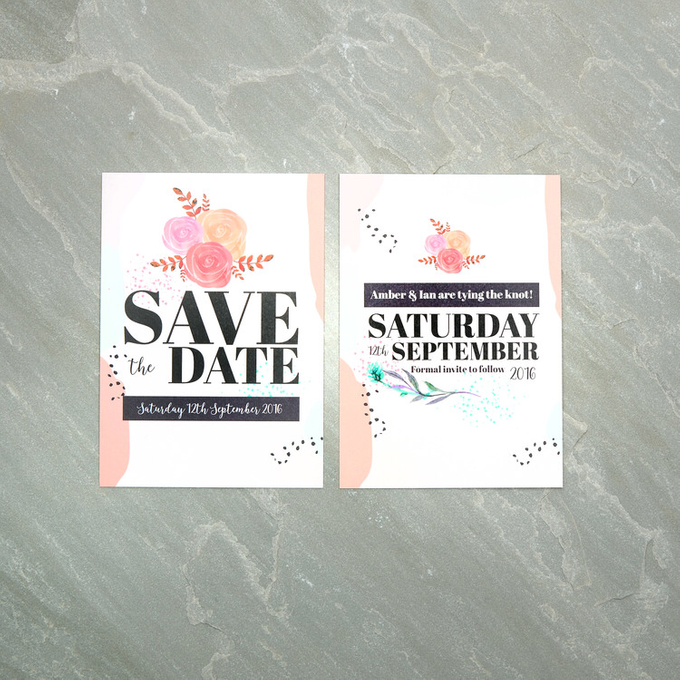 Spring template design by Vicky Perry Wedding Stationery - 002