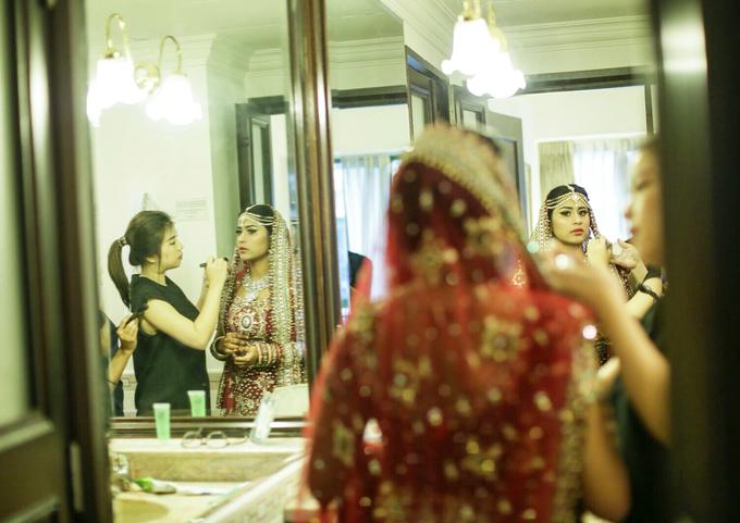 Bee Meera's Wedding by YRegina Makeup - 007