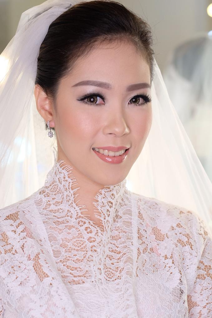 Ria wedding makeup by Amanda Makeup Artist - 009