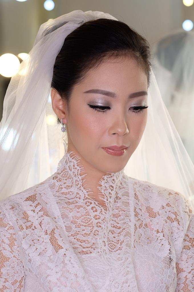 Ria wedding makeup by Amanda Makeup Artist - 010