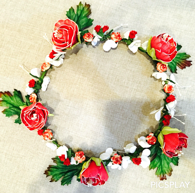 Flower Crown - Import Flowers  by Wedding Needs - 012