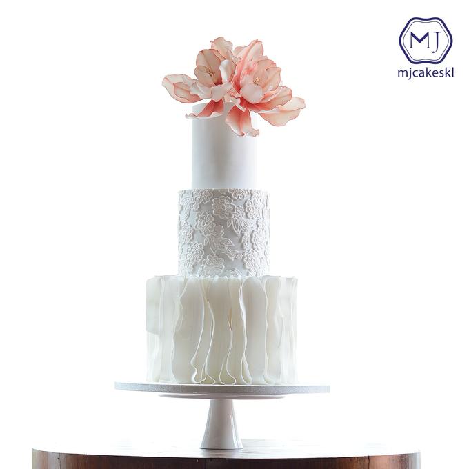 Wedding cakes by MJCakesKL - 001