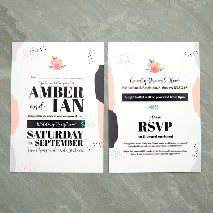 Spring template design by Vicky Perry Wedding Stationery - 004
