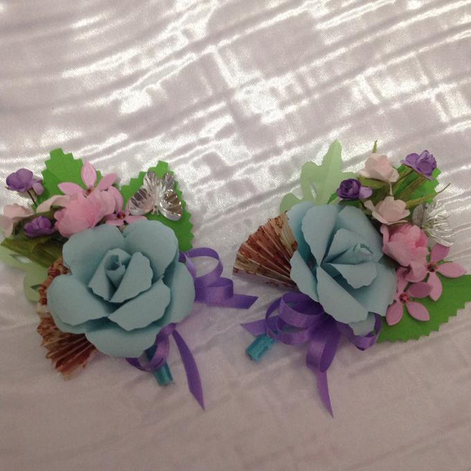 Pastel Handcrafted Entourage Bouquets by Duane's Fleur Creatif - 028