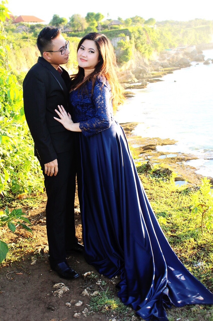 PLUS SIZE DRESS FOR PRE WED PHOTOSHOOT (A&I) by TS BRIDAL BALI - 007