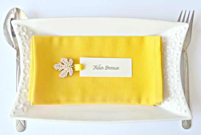 Fall name tags by Jasmine wedding prints - 004