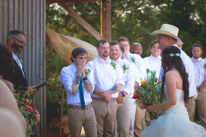 Southern summer wedding  by L&A Event Designs - 027