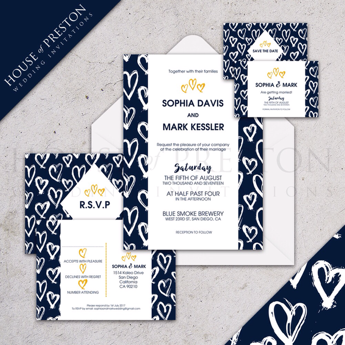 Wedding Invitations by House Of Preston - 008