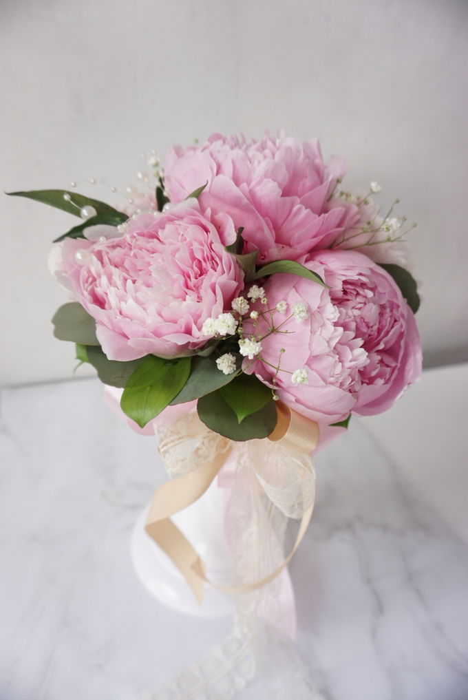 The blush of peonies  by Royal Petals - 003