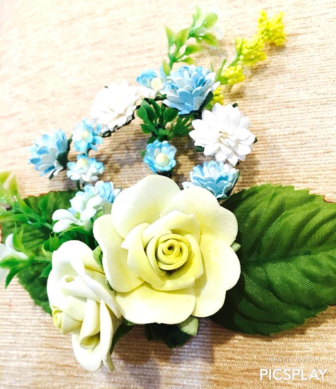 Handmade Flower Corsage by Wedding Needs - 004