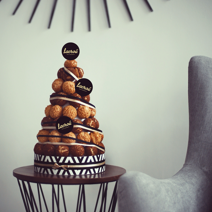 Choux Tower by Lacrou Patisserie - 003