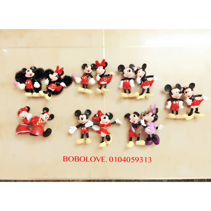 Mickey and Winnie corsage by bobolove cottage - 002