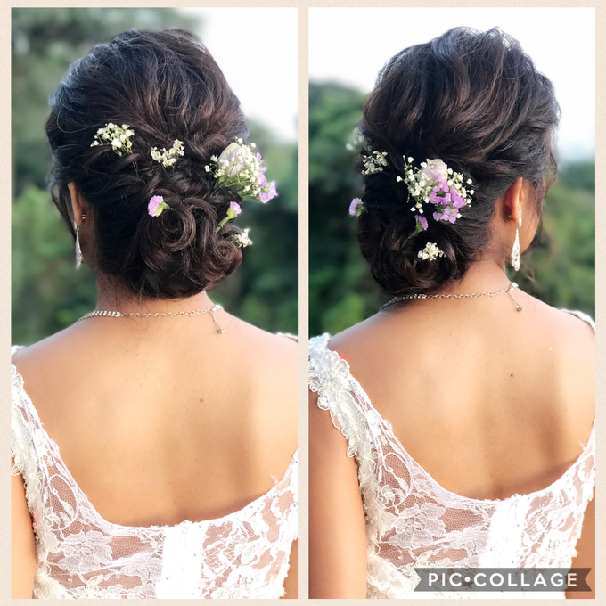 Bridal Hairstyles  by Zinny Theint Make-up Artistry - 003