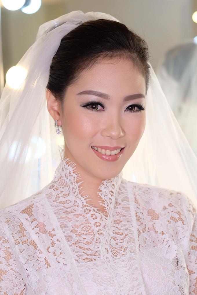 Ria wedding makeup by Amanda Makeup Artist - 015