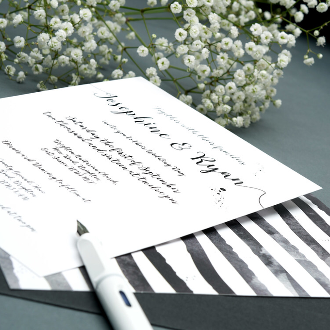 Chic template design by Vicky Perry Wedding Stationery - 005