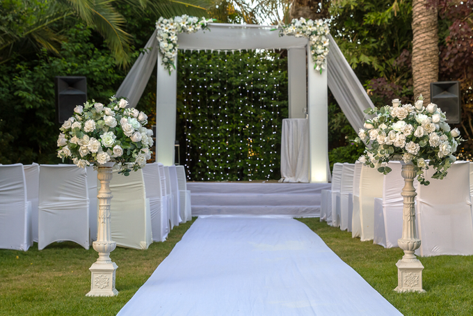 Amazing Outdoor Wedding Setup By Merit Events Bridestory Com