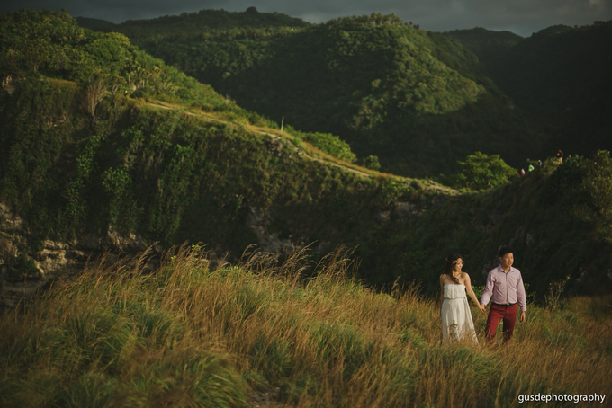 Nusa Penida Prewedding by Gusde Photography - 014
