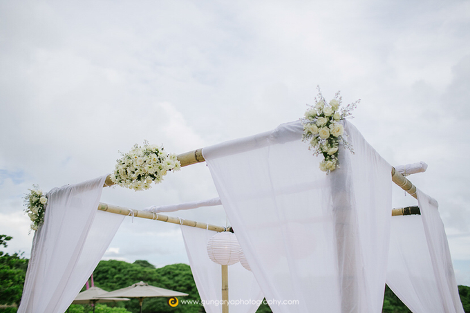 ILZE & MARTINS Wedding by Courtyard by Marriott Bali Nusa Dua - 018