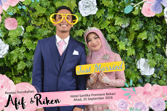 Afif & Riken Wedding by Booth of Moments - 001