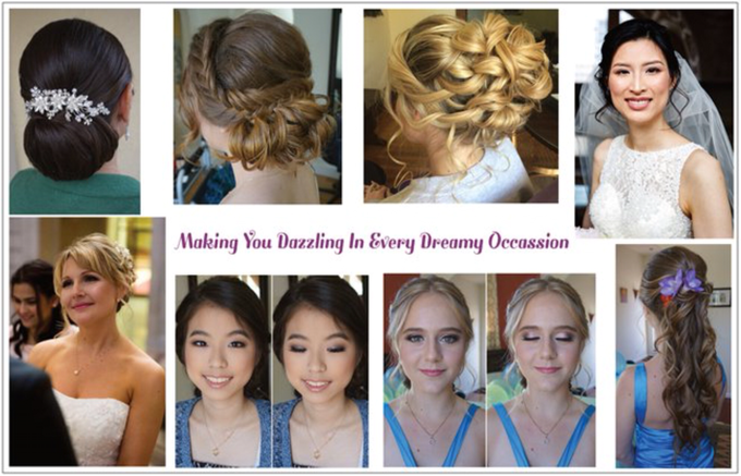 Bridal makeup and hair  by Lilianbeauty - 011
