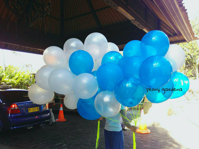 helium balloons by Peony Garden Bali - 013