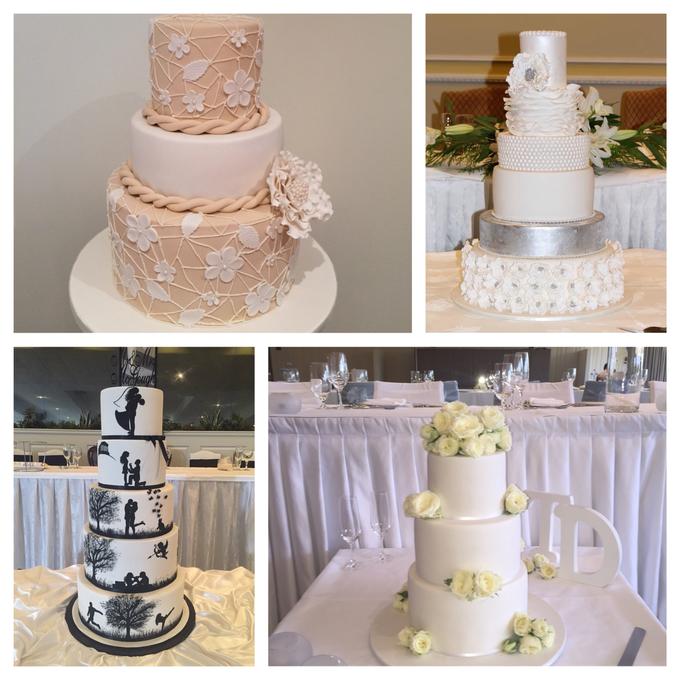 Custom designed wedding cakes . by Cake4me - 003