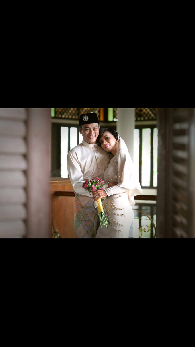 SOLEMNIZATION DRESS by wedding by zamin zawani - 001