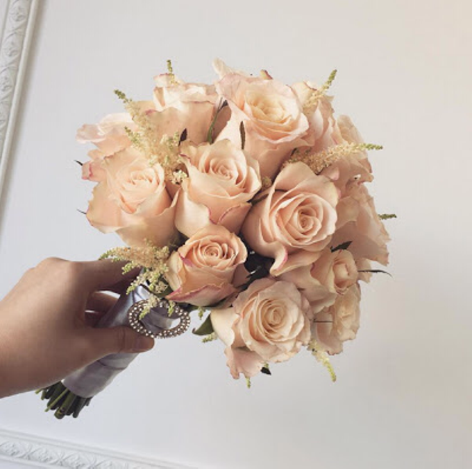 Wedding Bouquet by La Belle Vie flower - 011