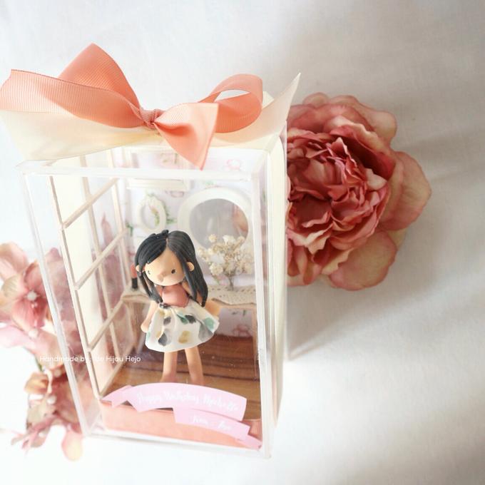 Birthday gift idea (single miniature in a box) by de hijau hejo - 006