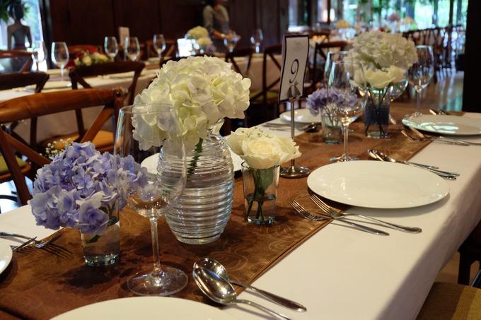 Pantro & Dini's Reception Decor by La Bloom Florist - 007