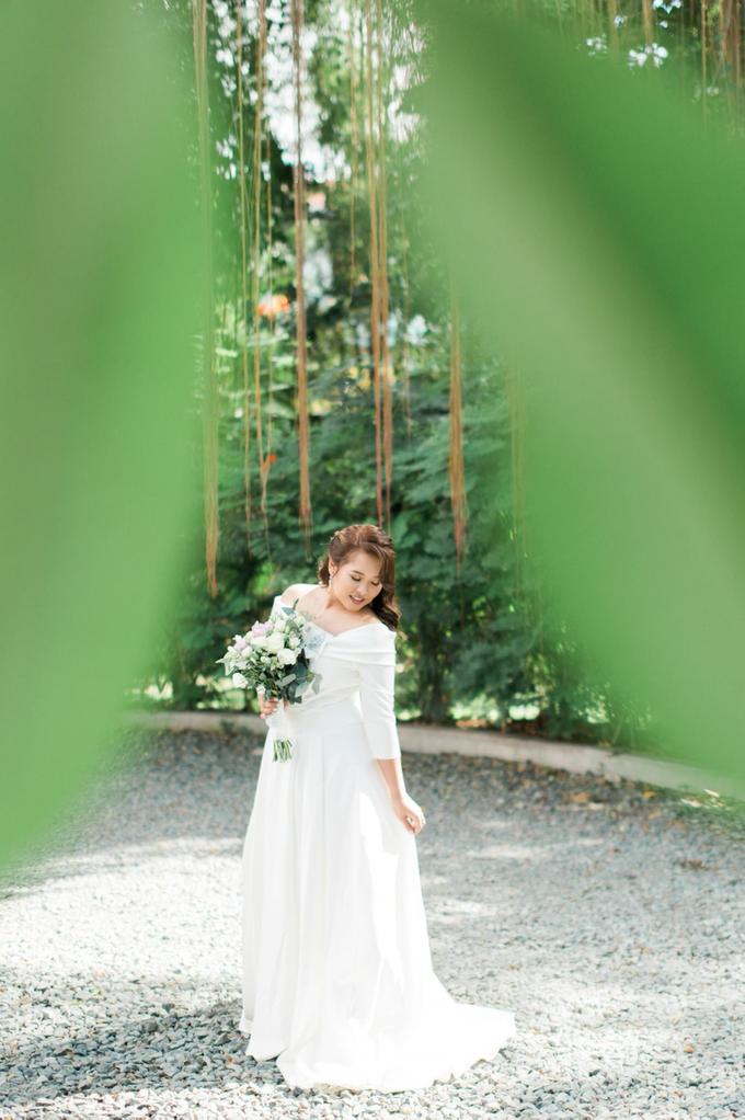 Bridal Makeup for Mhel  by GJ Esguerra Photography - 007