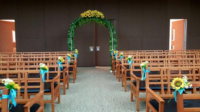 Sunflowers wedding by ilmare Wedding - 025
