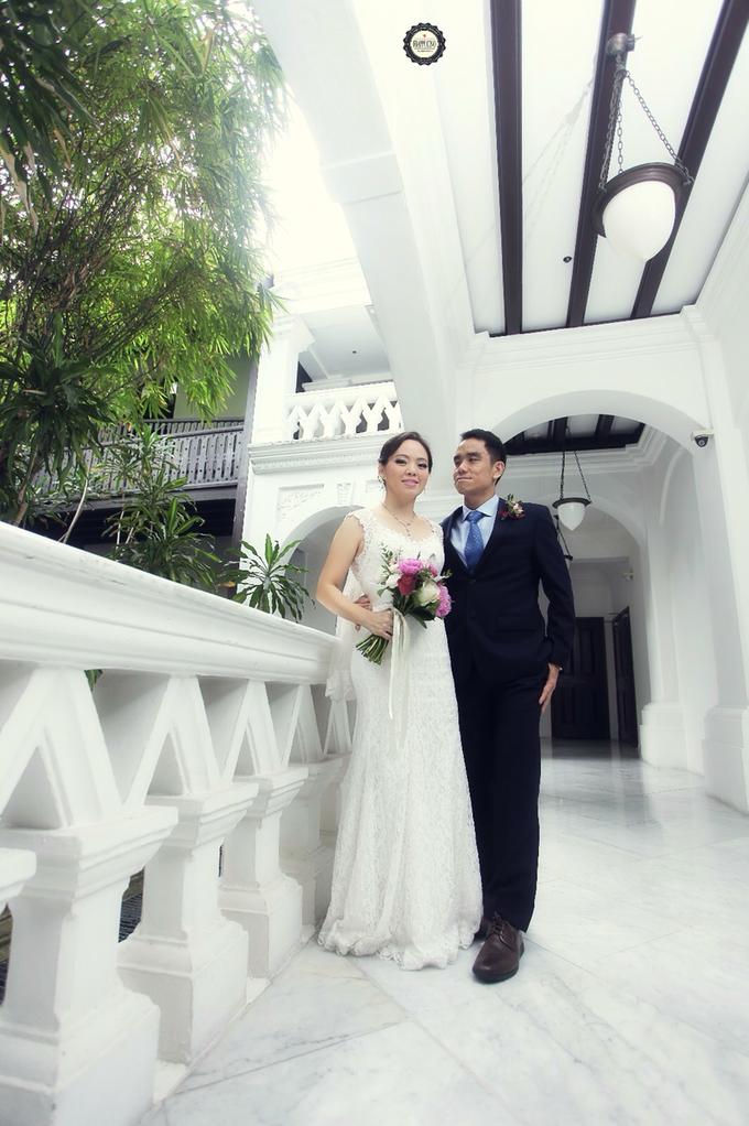 Sam & Ivy's Wedding by YRegina Makeup - 006