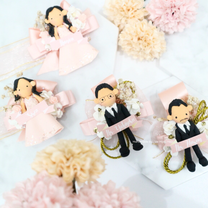 Blush Colour For Corsage And Wristband by de hijau hejo - 007