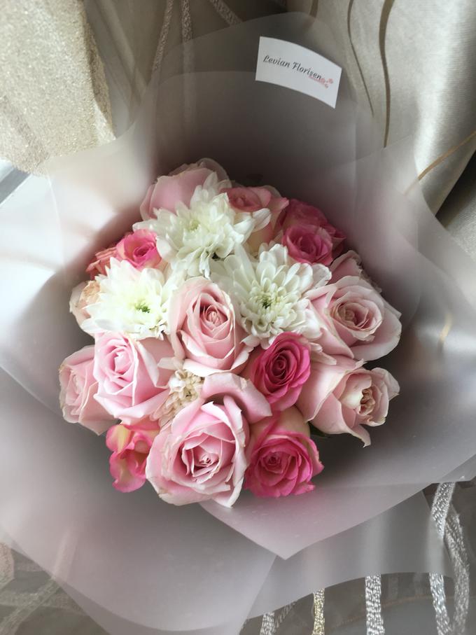 Pink Velvet Bouquet  by Levian Florisen - 002