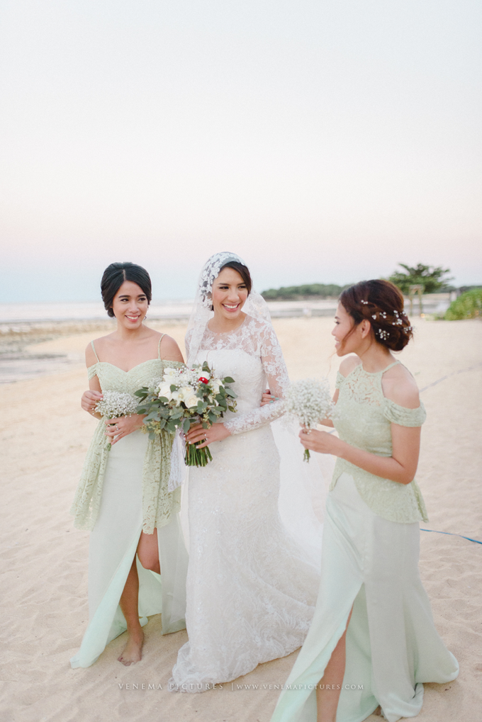Bali Wedding : Acha & Andy Holy Matrimony by Elsie Chrysila Brides - 037
