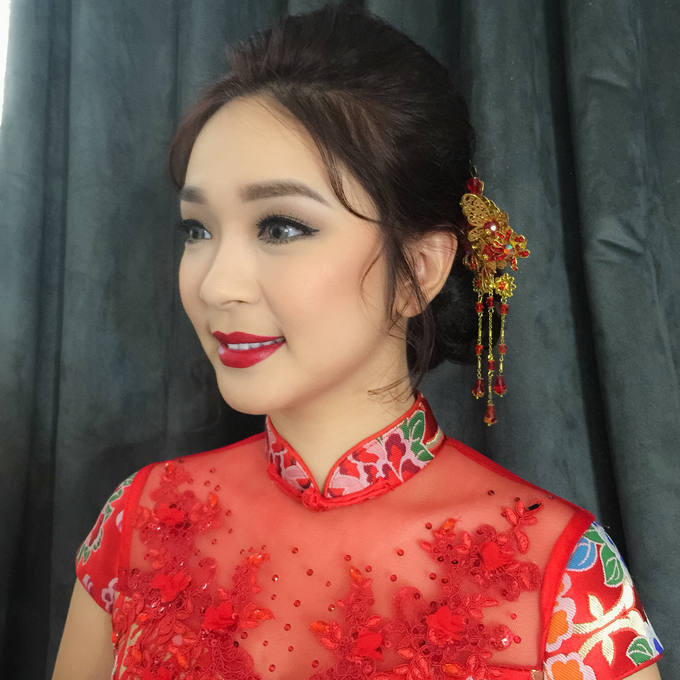 Wedding Makeup Oriental Looks by Noveo Alexander Professional Makeup Artist - 002