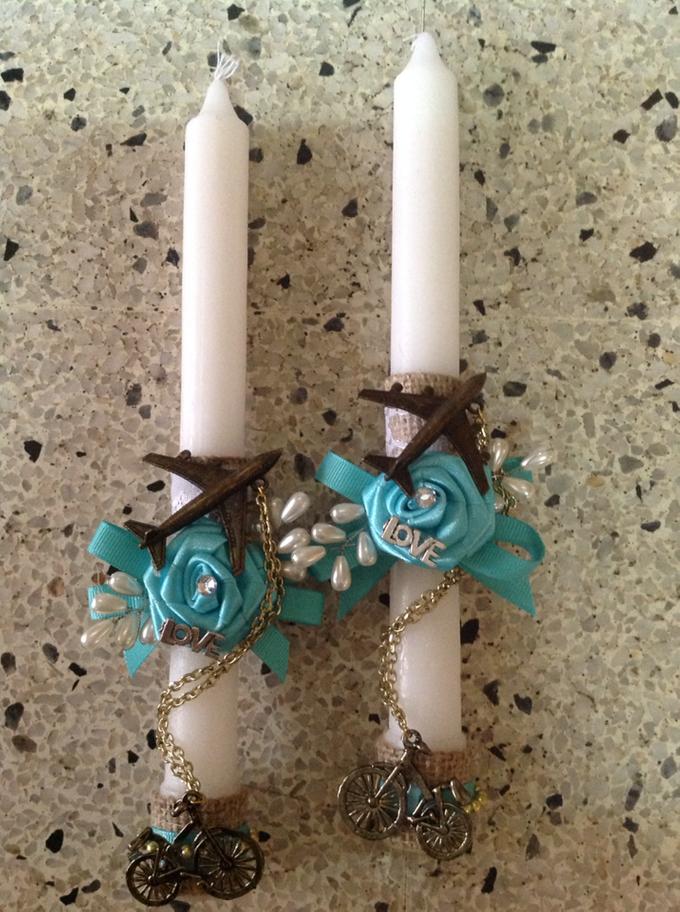 rustic travel themed wedding accessories by Duane's Fleur Creatif - 013