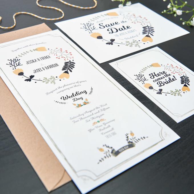 Bespoke designs by Vicky Perry Wedding Stationery - 006