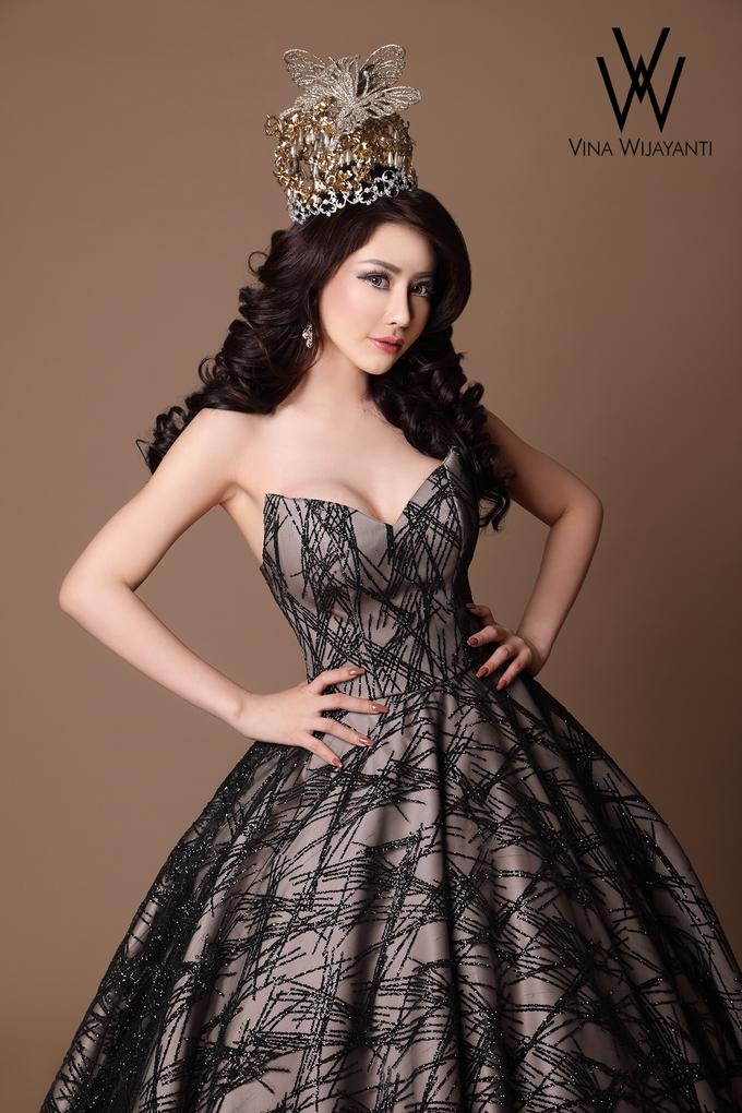 Starry night dress by UTOPIA STUDIO - 002