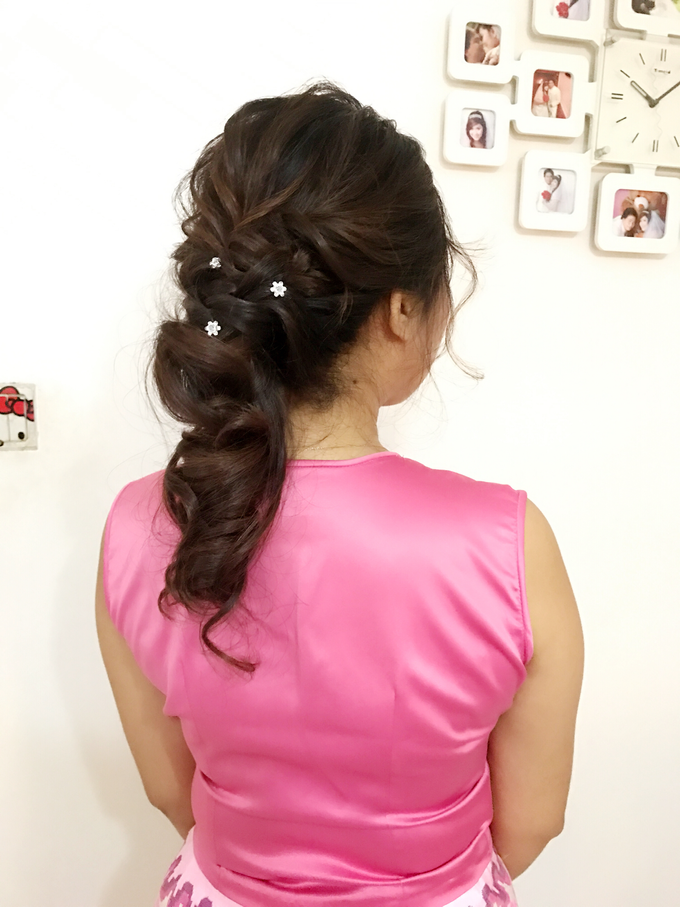 Bridal Hairstyles  by Zinny Theint Make-up Artistry - 005