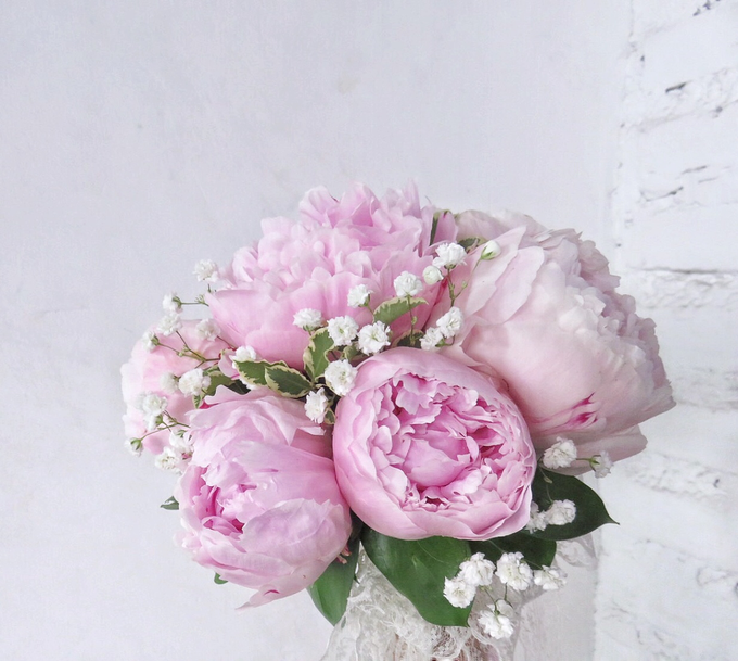 The blush of peonies  by Royal Petals - 005