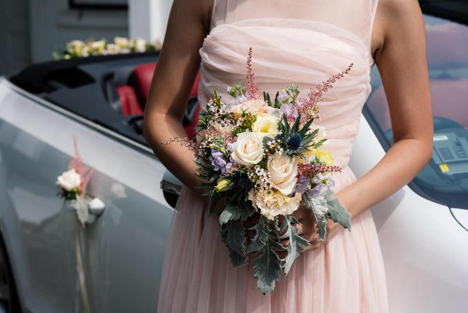 Rustic Bridal Bouquet by Liz Florals - 003