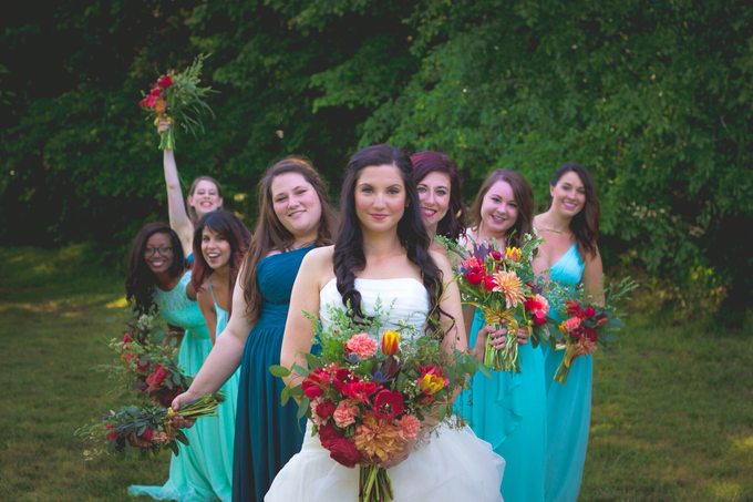 Southern summer wedding  by L&A Event Designs - 003