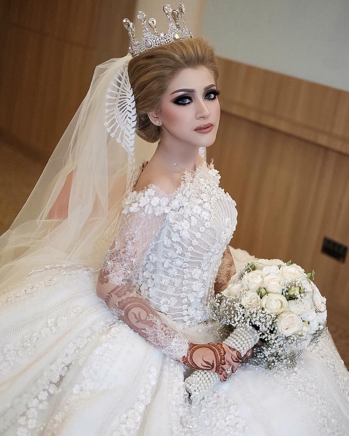 Wedding Hanun & Yusuf by Imel Vilentcia Make Up Artist - 004