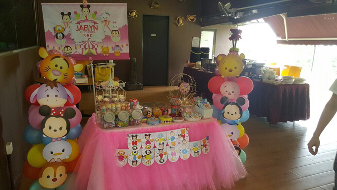 Tsum tsum birthday party by ilmare Wedding - 007