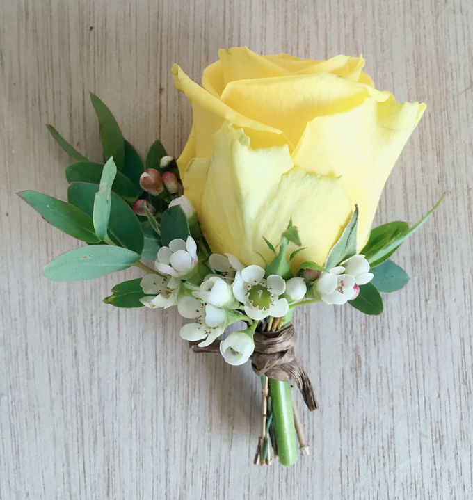 Rustic yellow by Fairy floral - 004