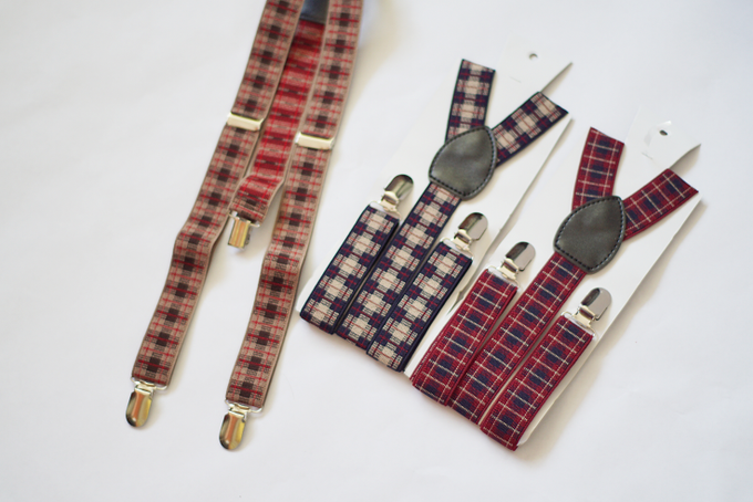 [NEW] TIE SET WITH SUSPENDERS by Take A Bow Tie - 007
