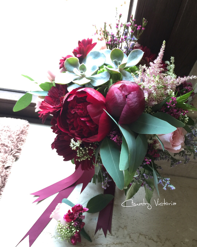 Bridal Bouquets by Country Victoria - 002