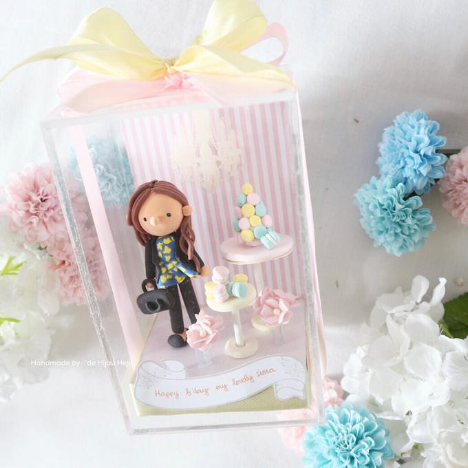 Birthday gift idea (single miniature in a box) by de hijau hejo - 008
